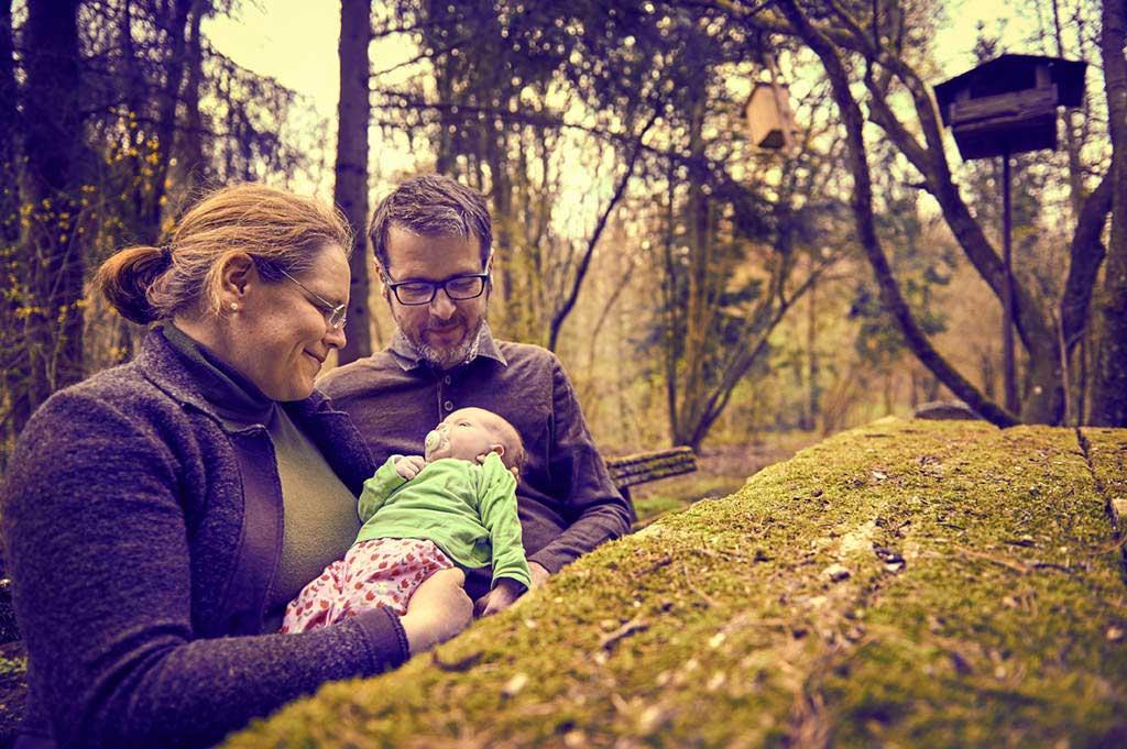 Familienfoto outdoor Rainer Müller Fotografie